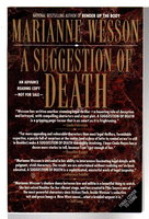 A SUGGESTION OF DEATH. by Wesson, Marianne.