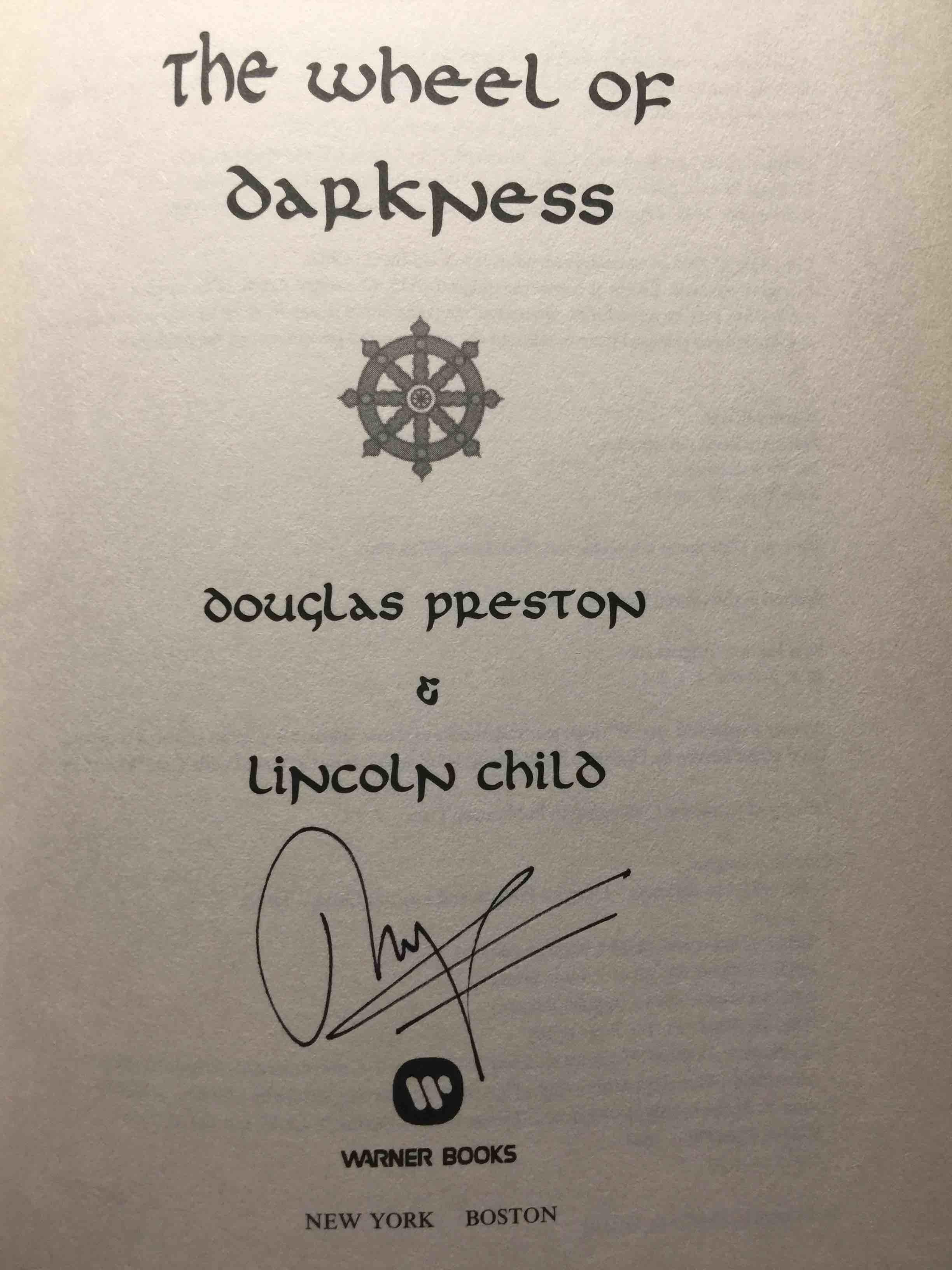 The Wheel Of Darkness By Preston Douglas And Lincoln Child Bookfever Com