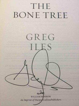 THE BONE TREE. by Iles, Greg.
