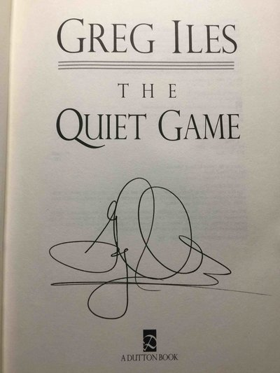 THE QUIET GAME. by Iles, Greg.