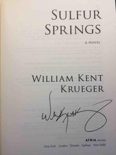 SULFUR SPRINGS. by Krueger, William Kent.