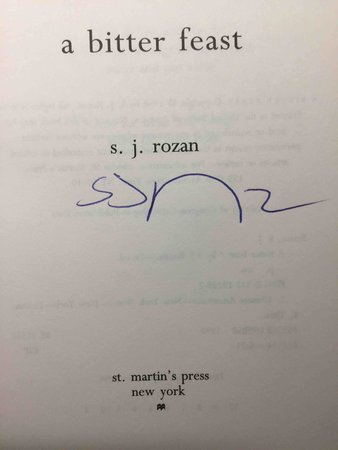 A BITTER FEAST. by Rozan, S. J.