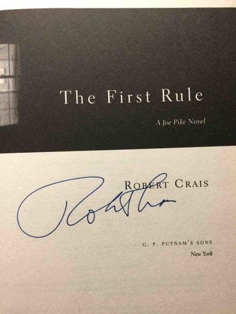 THE FIRST RULE. by Crais, Robert.