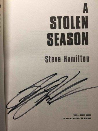 A STOLEN SEASON. by Hamilton, Steve.