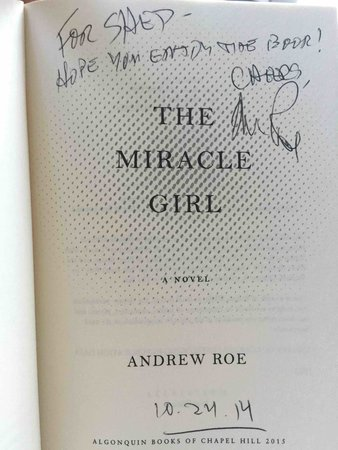 THE MIRACLE GIRL. by Roe, Andrew.