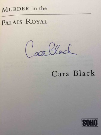 MURDER IN THE PALAIS ROYAL. by Black, Cara.