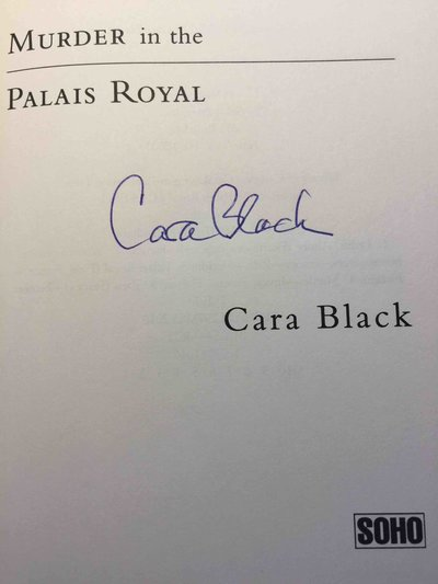 MURDER IN THE PALAIS ROYAL. by Black, Cara.
