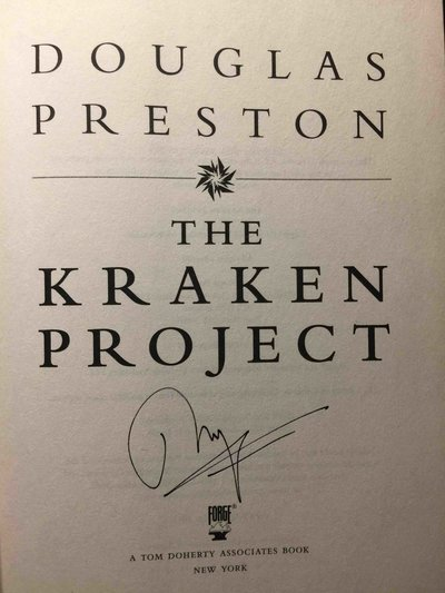 THE KRAKEN PROJECT. by Preston, Douglas.