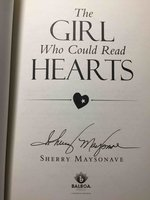 THE GIRL WHO COULD READ HEARTS. by Maysonave, Sherry.