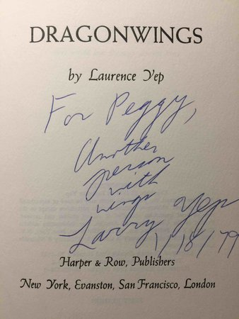 DRAGONWINGS. by Yep, Lawrence.