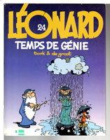 LEONARD, 24, TEMPS DE GENIE. by Turk & De Groot (artist Philippe Ligeois and writer Bob de Groot)