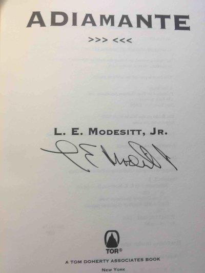 ADIAMANTE. by Modesitt, L.E. Jr.