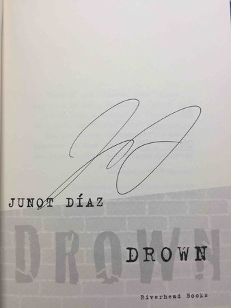 DROWN. by Diaz, Junot.