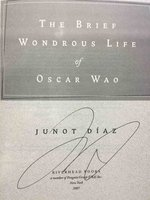 THE BRIEF WONDROUS LIFE OF OSCAR WAO. by [Modern Literature] Diaz, Junot.