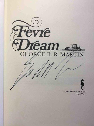 FEVRE DREAM. by Martin, George R. R.