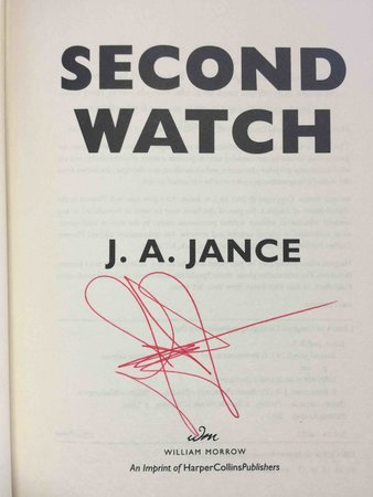 SECOND WATCH. by Jance, J. A.
