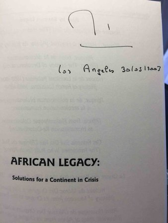 AFRICAN LEGACY: Solutions for a Community in Crisis. by Lugan, Bernard.