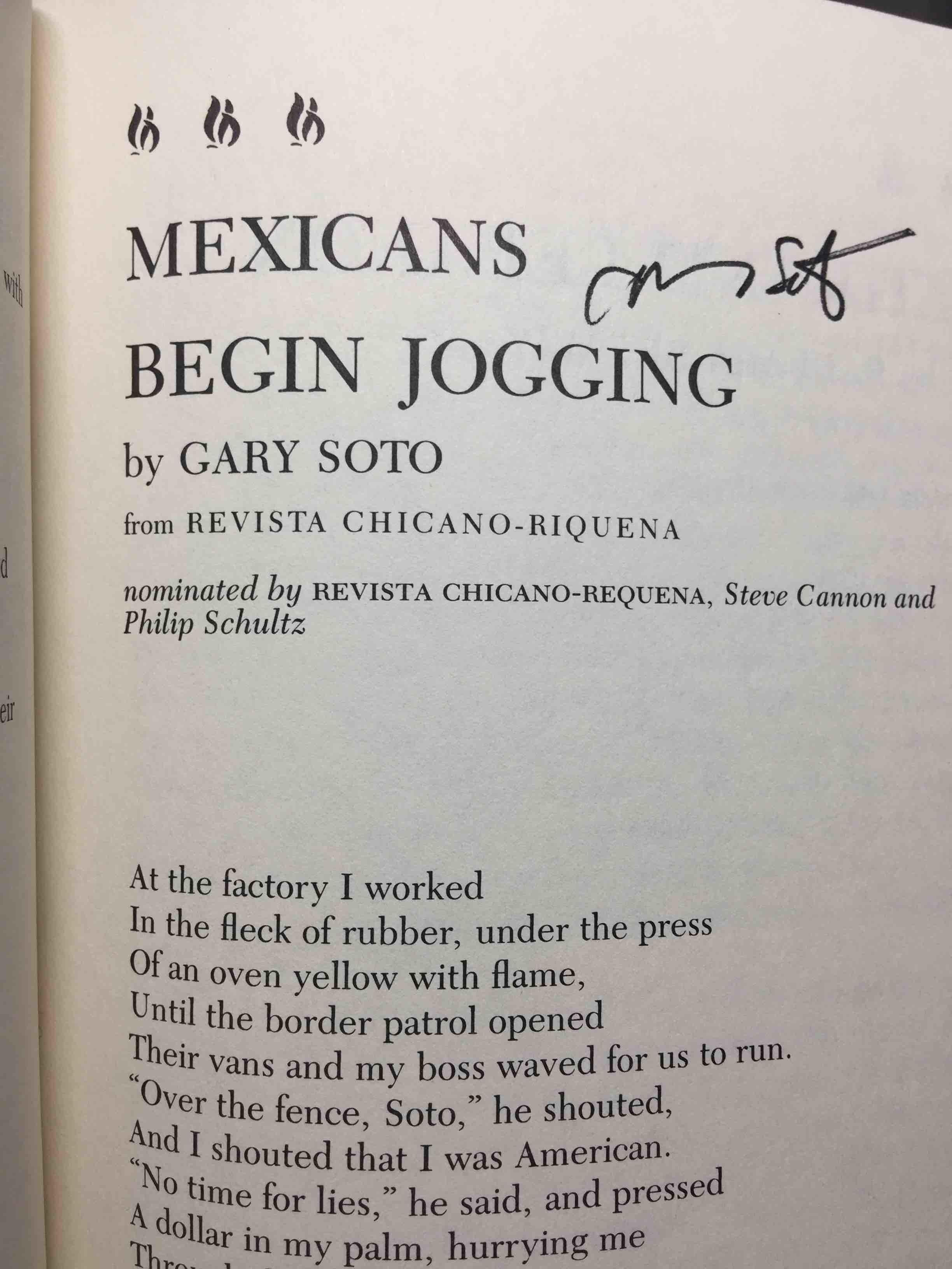 mexicans begin jogging mora