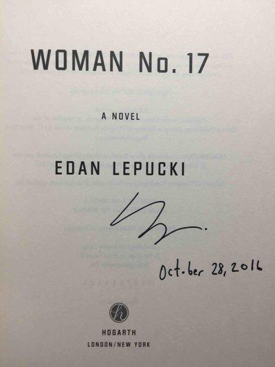 WOMAN NO. 17. by Lepucki, Edan.