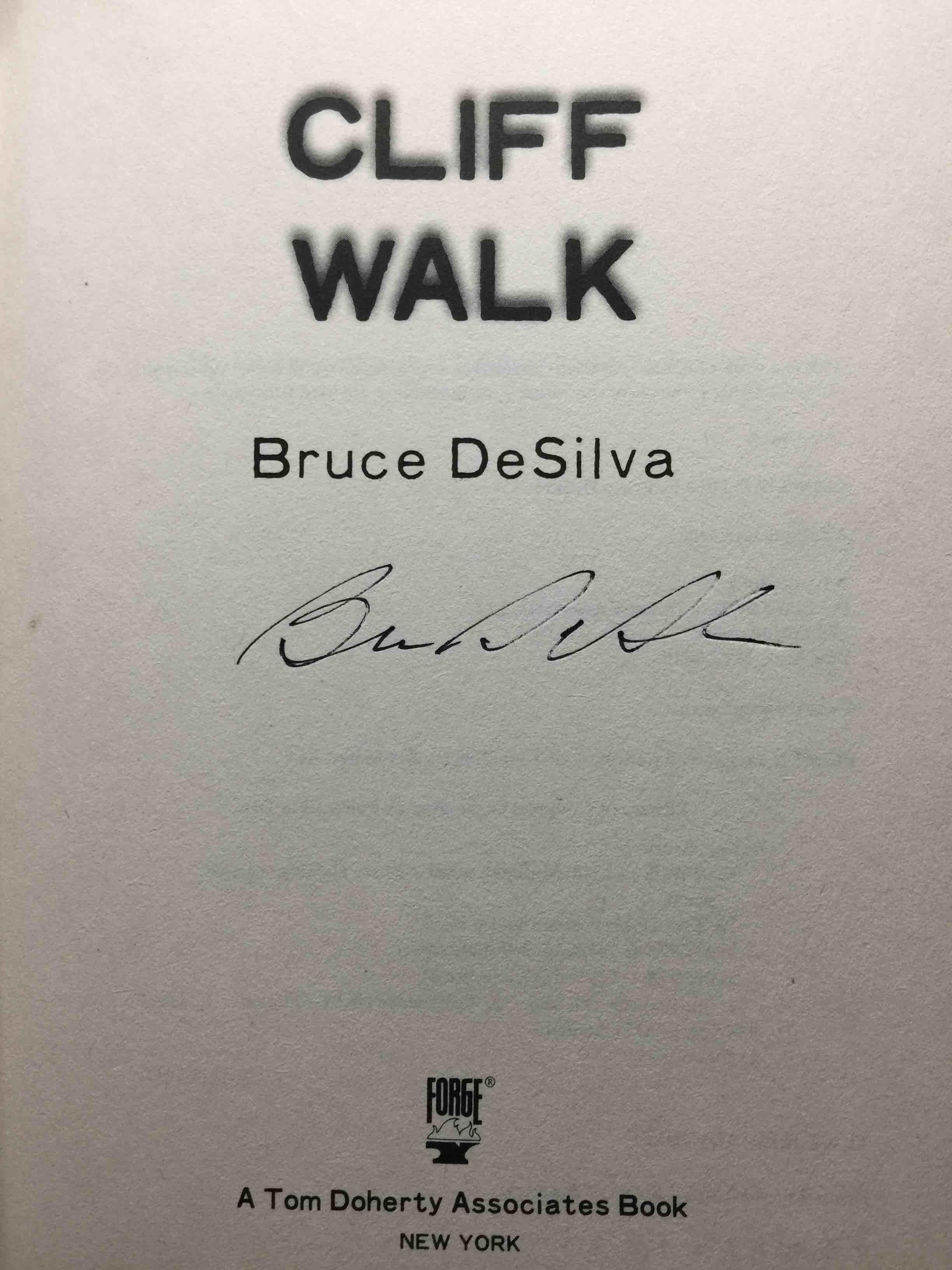DESILVA, BRUCE. - CLIFF WALK.