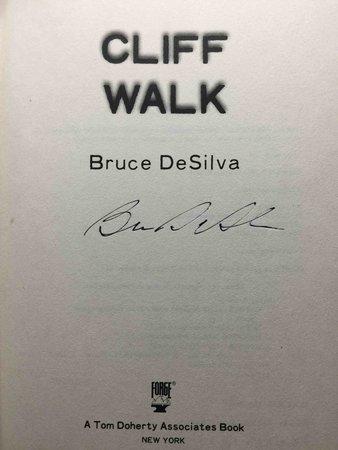 CLIFF WALK. by DeSilva, Bruce.