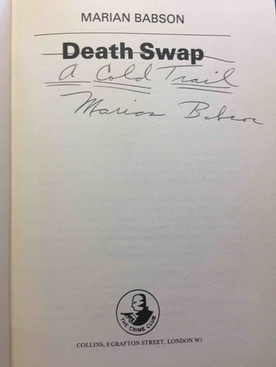 DEATH SWAP. by Babson, Marian.