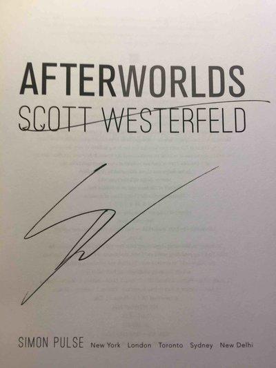 AFTERWORLDS. by Westerfeld, Scott.