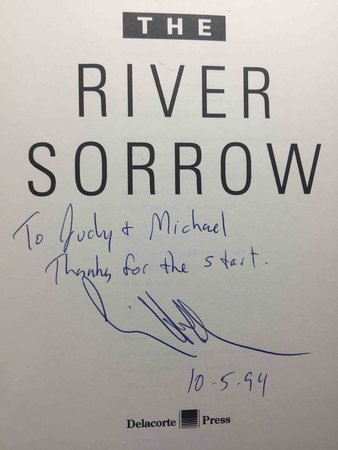 THE RIVER SORROW. by Holden, Craig.