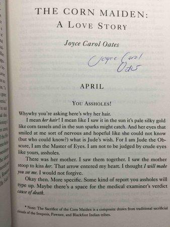 TRANSGRESSIONS. by [Anthology, signed] McBain, Ed, editor. Joyce Carol Oates, signed.