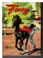 FURY AND THE LONE PINE MYSTERY, #1 in series.. by Fenton, William (illustrated by John Ushler.)