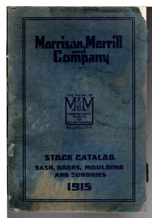 MORRISON, MERRILL AND COMPANY STOCK CATALOG,