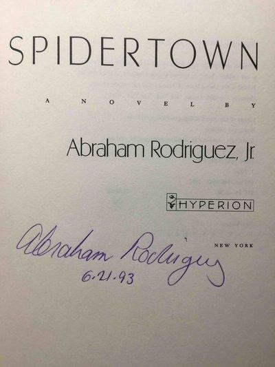 SPIDERTOWN. by Rodriguez, Abraham, Jr.