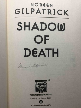 SHADOW OF DEATH by Gilpatrick, Noreen.