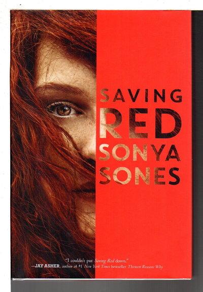 SAVING RED. by Sones, Sonya.