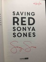 SAVING RED. by Sones, Sonya.