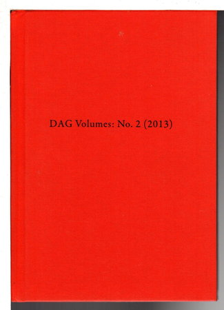DAG VOLUMES: NO 2 (2013) by Barber, Jeff.