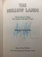 THE HOLLOW LANDS. by Moorcock, Michael.