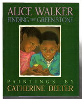 FINDING THE GREENSTONE by Walker, Alice