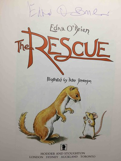 THE RESCUE. by O'Brien, Edna.