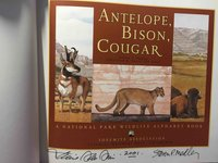 ANTELOPE, BISON, COUGAR: A National Park Wildlife Alphabet Book. by Medley, Steven P.; Daniel San Souci, illustrator.