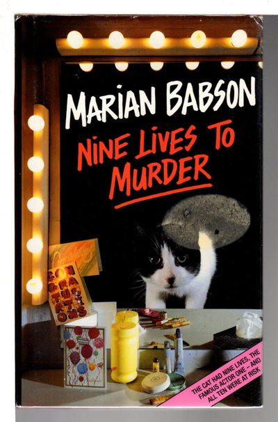 NINE LIVES TO MURDER. by Babson, Marian  (pseudonym of Ruth Stenstreem, 1929-2017) .