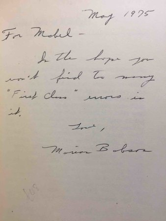 MURDER SAILS AT MIDNIGHT. by Babson, Marian  (pseudonym of Ruth Stenstreem, 1929-2017) .