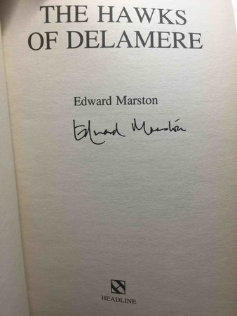 THE HAWKS OF DELAMERE: Volume VII of the Domesday Books by Marston, Edward (pseudonym of Keith Miles)