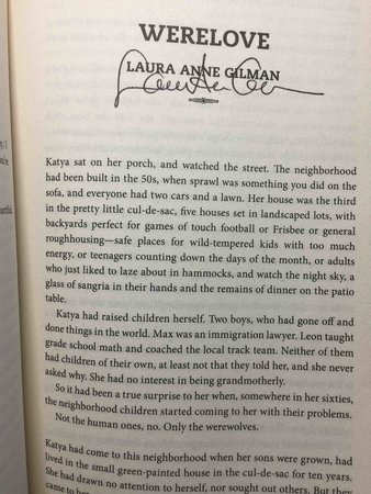 RUNNING WITH THE PACK. by [Anthology, signed] Sedia, Ekaterina. editor (N. K. Jemisin,  Laura Anne Gilman,  and Susan Palwick, signed).