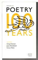 POETRY, Volume 199 (CXCIX) Number 5, February 2012. by Christian Wiman, editor.Jane Hirshfield, Philip Levine, Carol Frost, Greg Glazner and others, contributors.