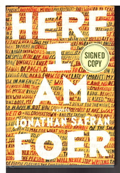 HERE I AM. by Foer, Jonathan Safran.