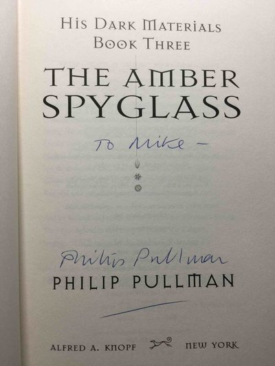 THE AMBER SPYGLASS: BOOK III by Pullman, Philip.