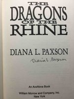 THE DRAGONS OF THE RHINE. by Paxson, Diana L.