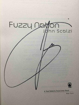 FUZZY NATION. by Scalzi, John.