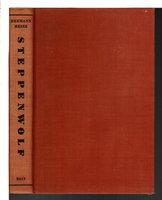 STEPPENWOLF. by Hesse, Hermann.